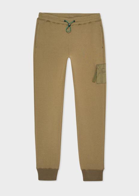 폴 스미스 스웻팬츠 Paul Smith Mens Slim-Fit Khaki Green Sweatpants