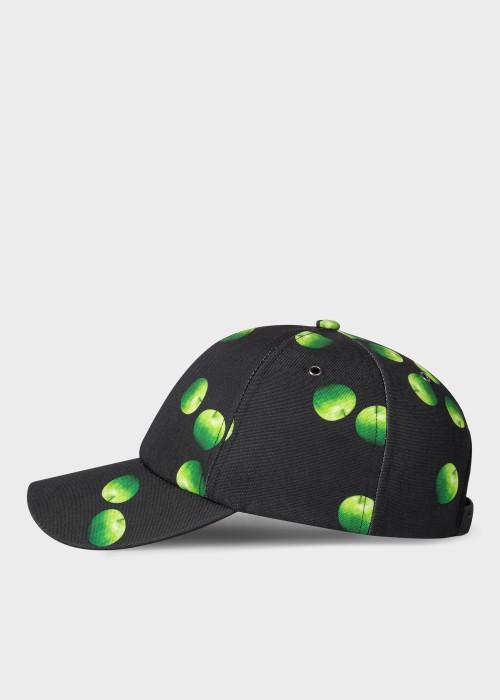 폴 스미스 Paul Smith Green Apple Print Baseball Cap