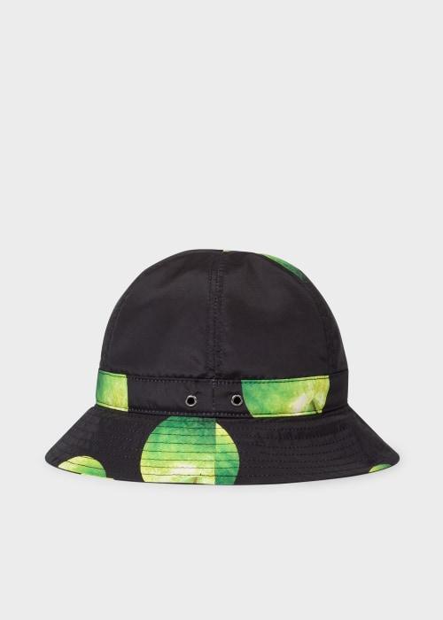 폴 스미스 Paul Smith Mens Green Apple Print Bucket Hat