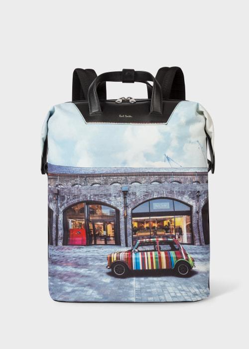 폴 스미스 Paul Smith Mini Kings Cross Print Canvas Backpack