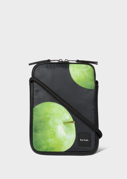 폴 스미스 Paul Smith Green Apple Print Neck Pouch