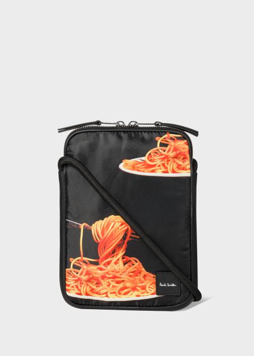 폴 스미스 Paul Smith Spaghetti Print Neck Pouch