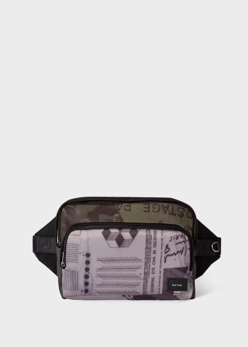 폴 스미스 Paul Smith Show Collage Print Crossbody Waist Bag