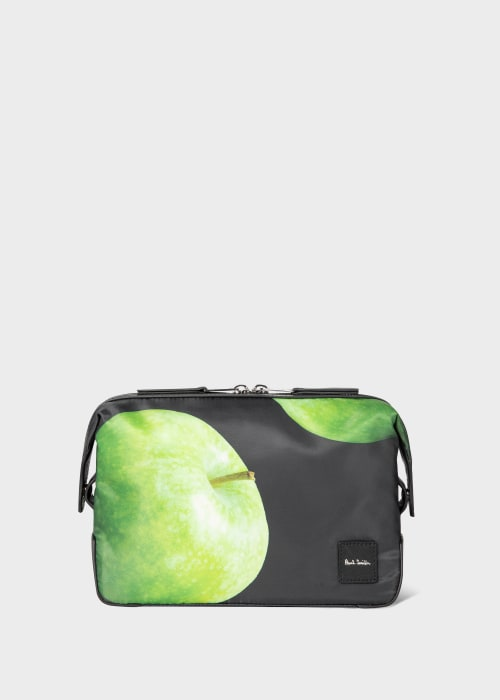 폴 스미스 Paul Smith Green Apple Print Wash Bag