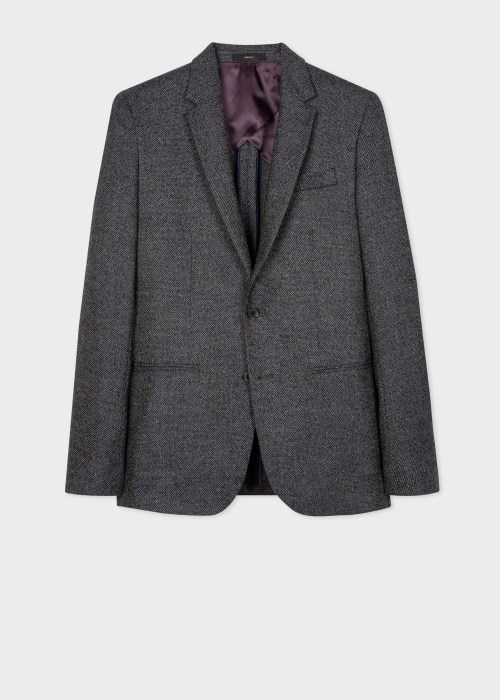 폴 스미스 Paul Smith The Kensington - Slim-Fit Wool-Silk Flecked Blazer