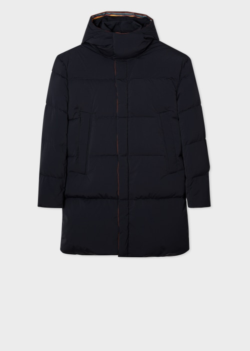 폴 스미스 Paul Smith Mens Dark Navy Down Parka