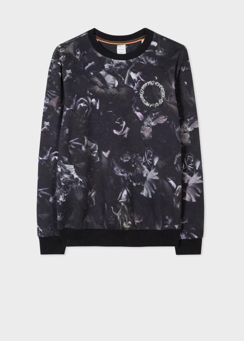 폴 스미스 Paul Smith Mens Floral Photo Print Cotton Sweatshirt