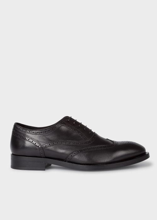 폴 스미스 Paul Smith Mens Black Leather Coleridge Brogues