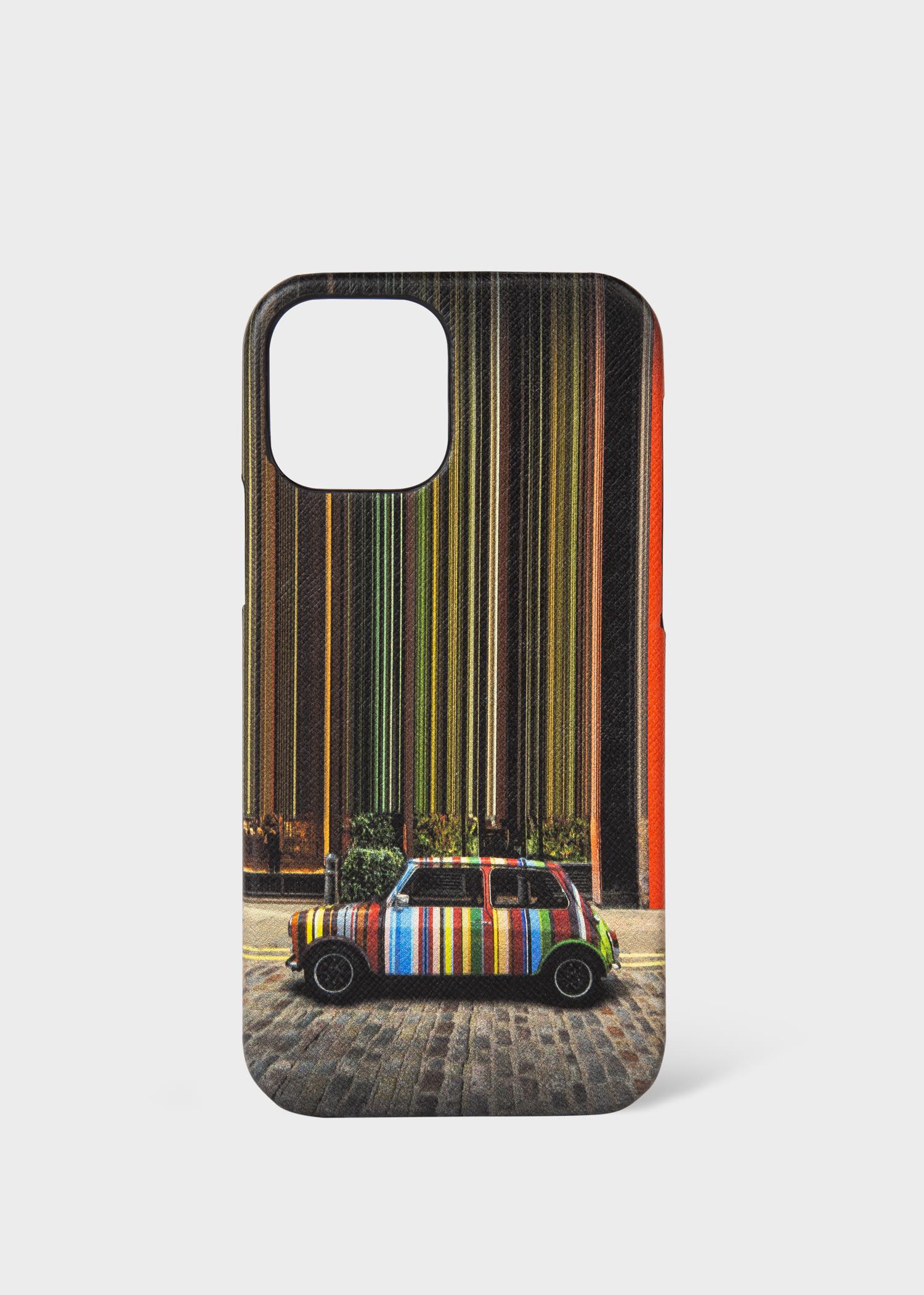 폴 스미스 아이폰 12 프로 케이스 Paul Smith Mini Covent Garden Print iPhone 12 Pro Case