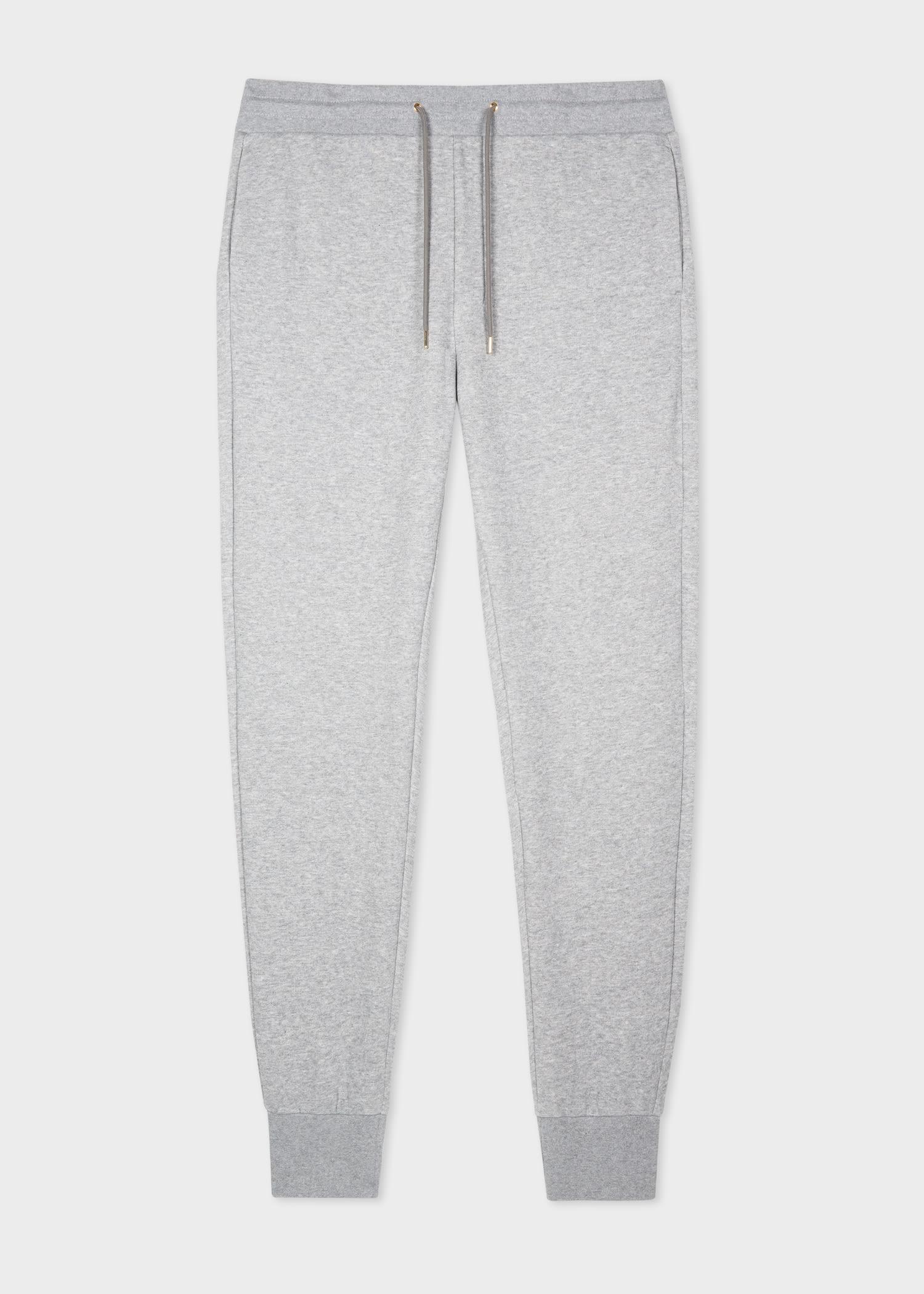 폴 스미스 스웻팬츠 Paul Smith Mens Grey Paint Splatter Sweatpants