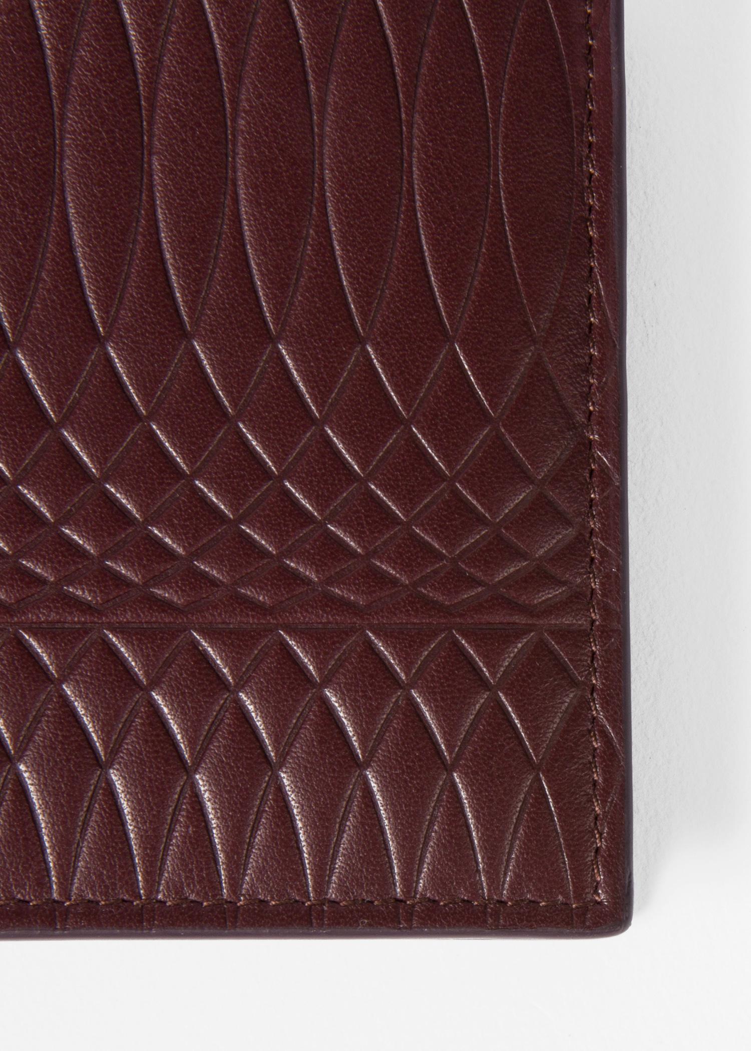 cd6f9440ed25 Paul Smith No.9 Men's Damson Leather Billfold Wallet - Paul Smith US