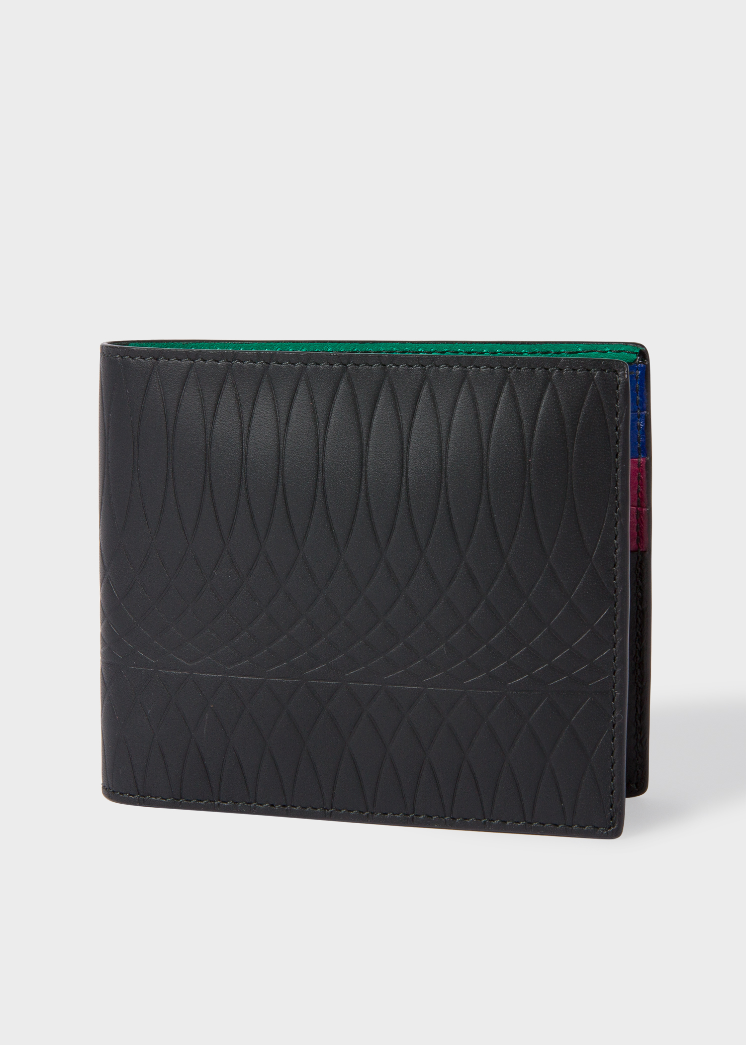 11b2aa43d7bf Paul Smith No.9 - Black Leather Billfold Wallet With Multi-Coloured  Interior   £170.00   Gay Times