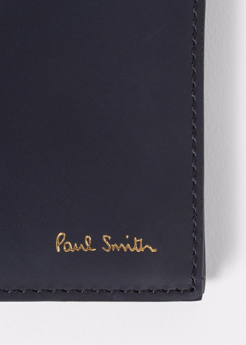 f27b86d2f08f84 Men's Black Colour Band Interior Leather Billfold Wallet. Paul smith ...