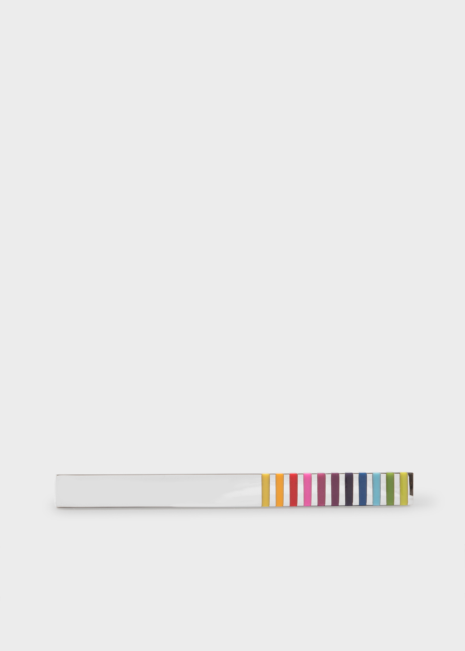 17a7bee5e0d Men s Vivid Multi-Stripe Tie Clip - Paul Smith