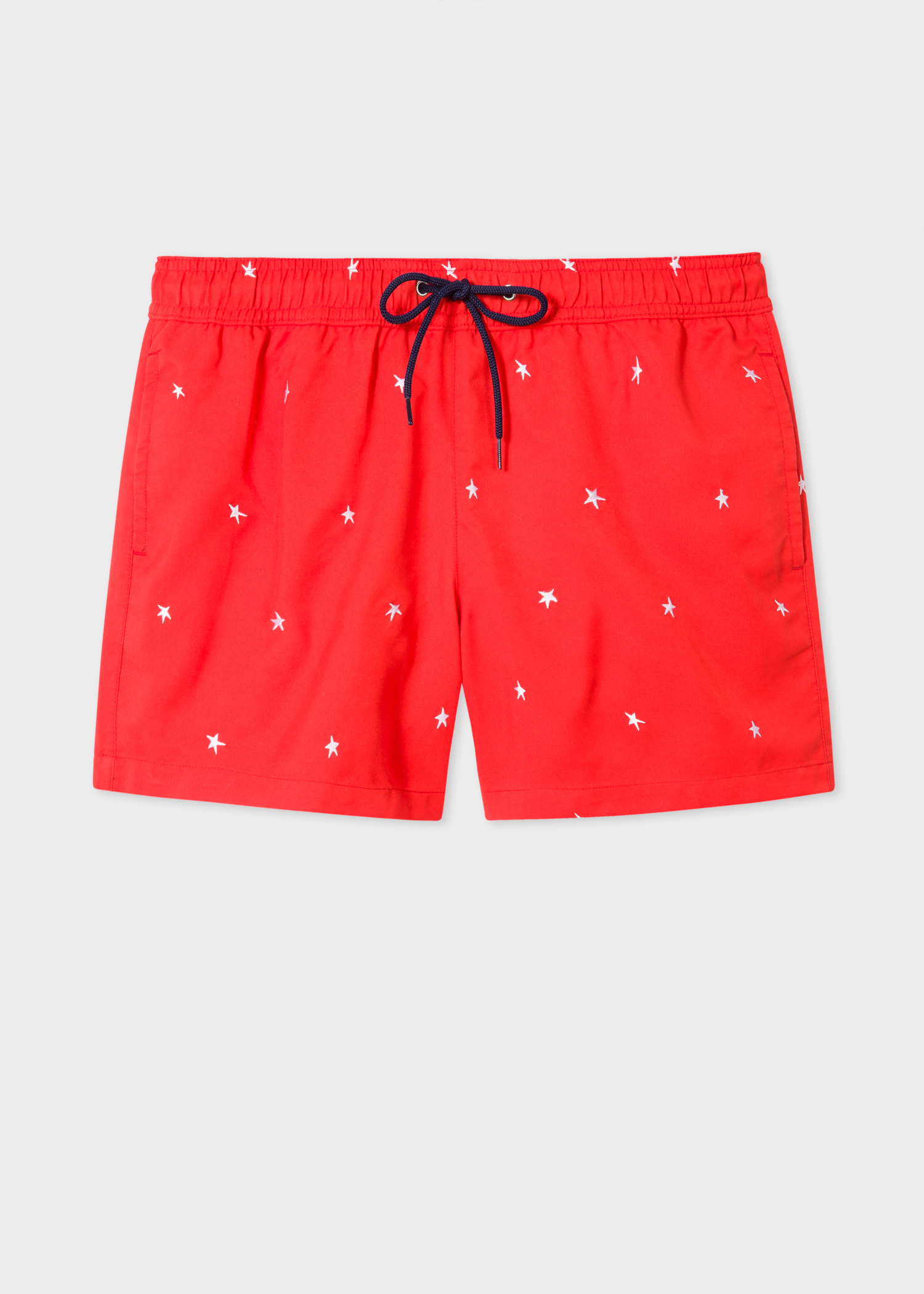 7a9e16321a Short De Bain Paul Smith Homme Rouge Brodé 'Star' - Paul Smith Francais