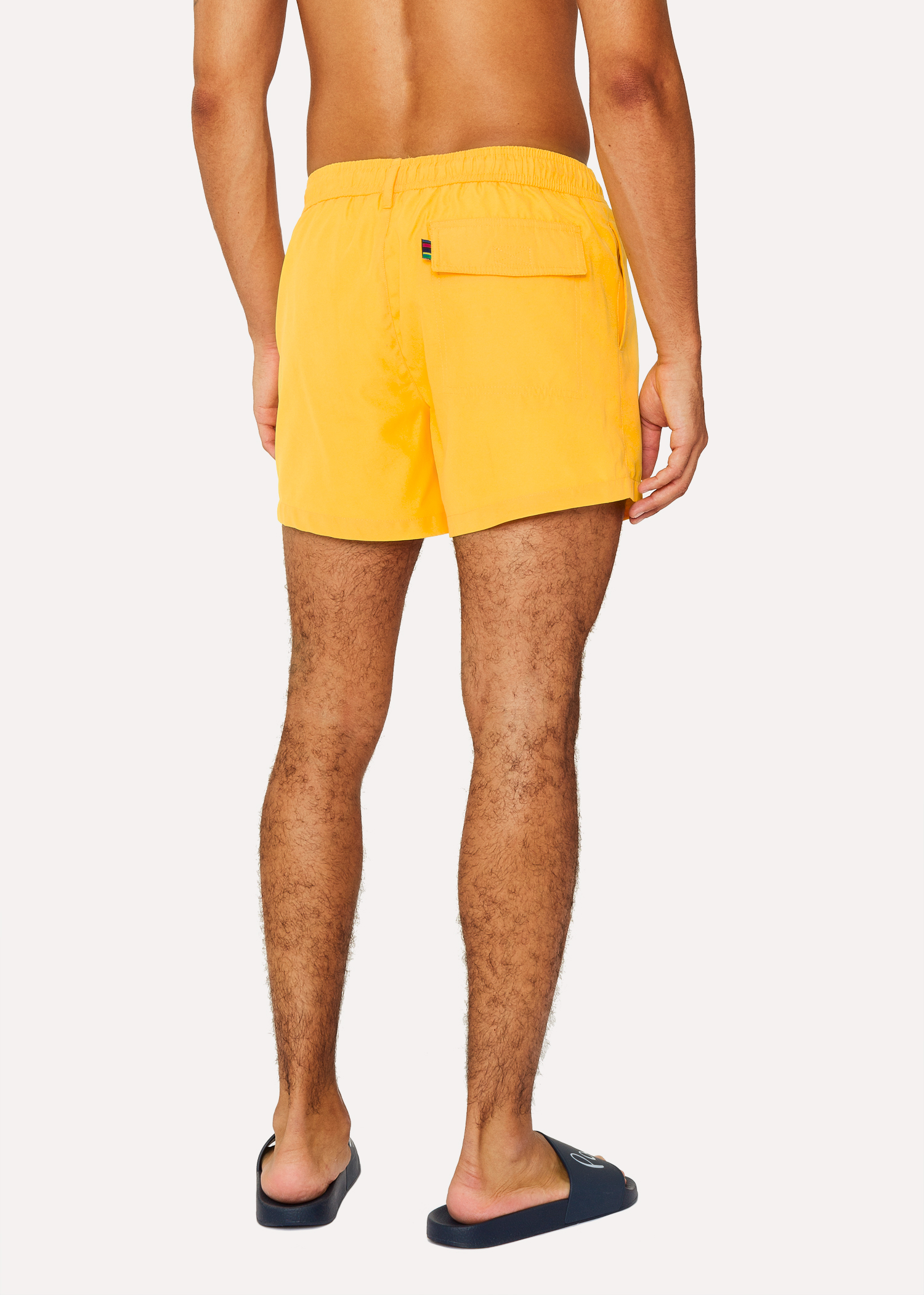 e0d4d04679 Men's Yellow Zebra Logo Swim Shorts - Paul Smith
