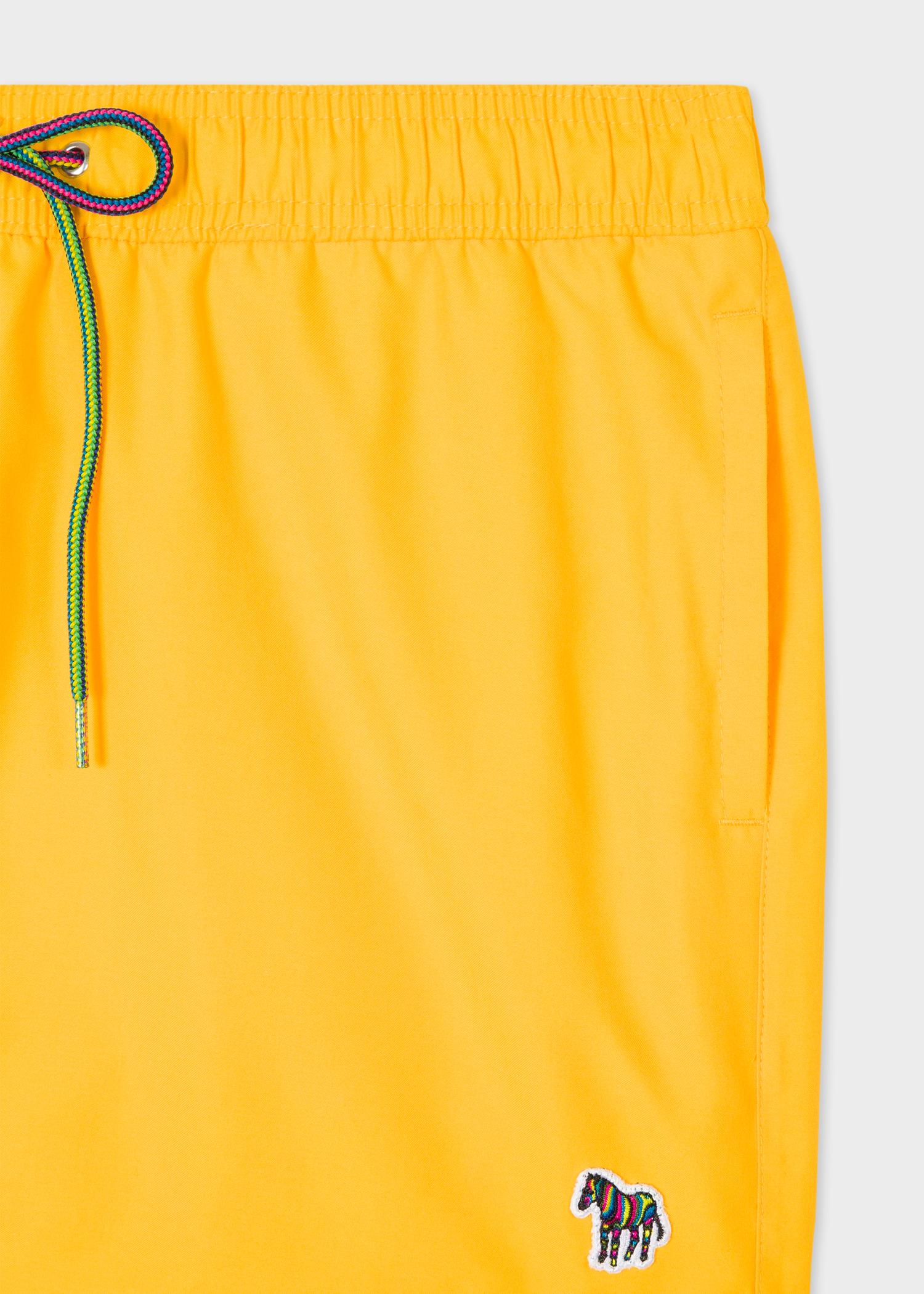 d6138177d7bcd Men's Yellow Zebra Logo Swim Shorts - Paul Smith