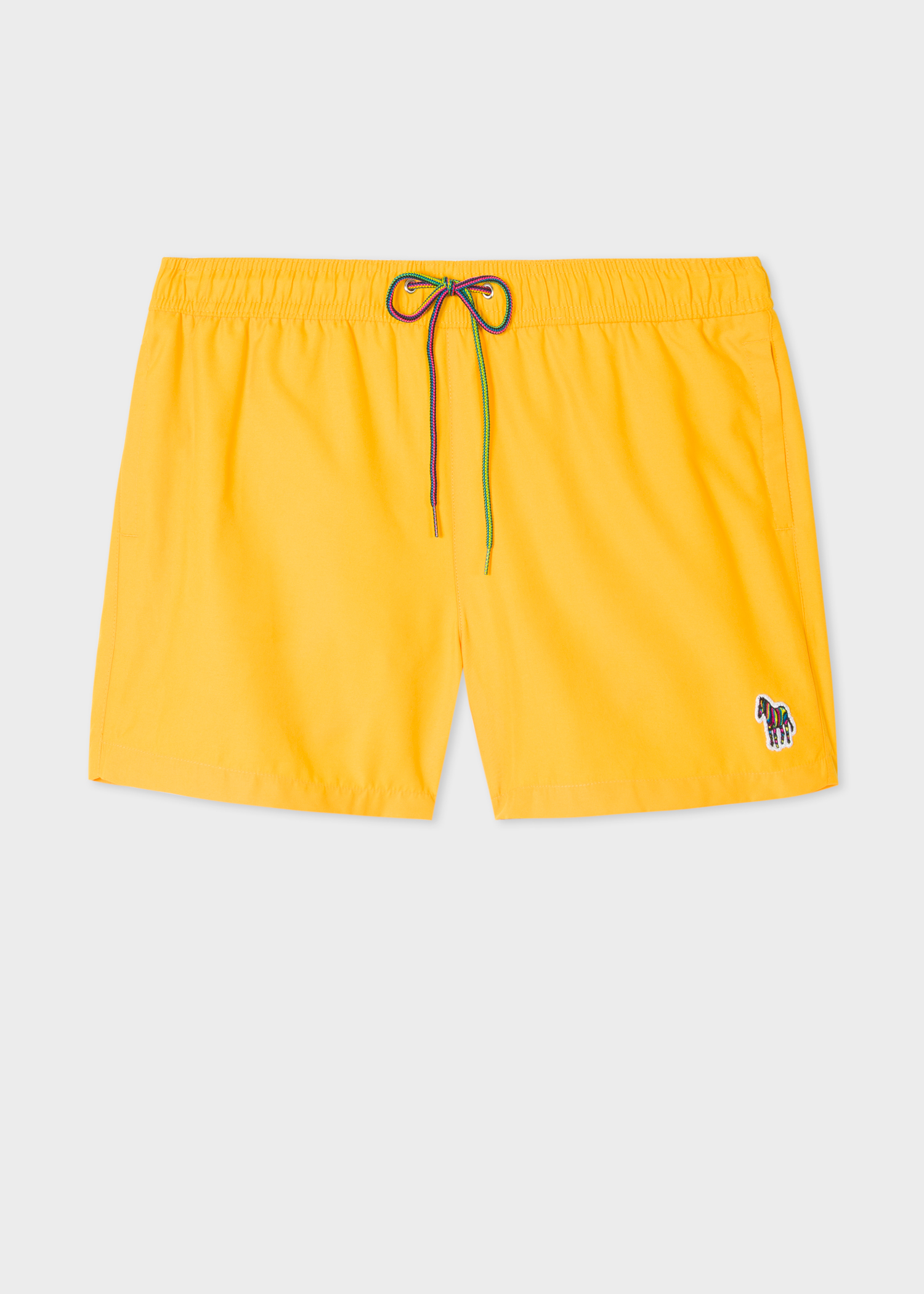 ae7f926428 Men's Yellow Zebra Logo Swim Shorts - Paul Smith US