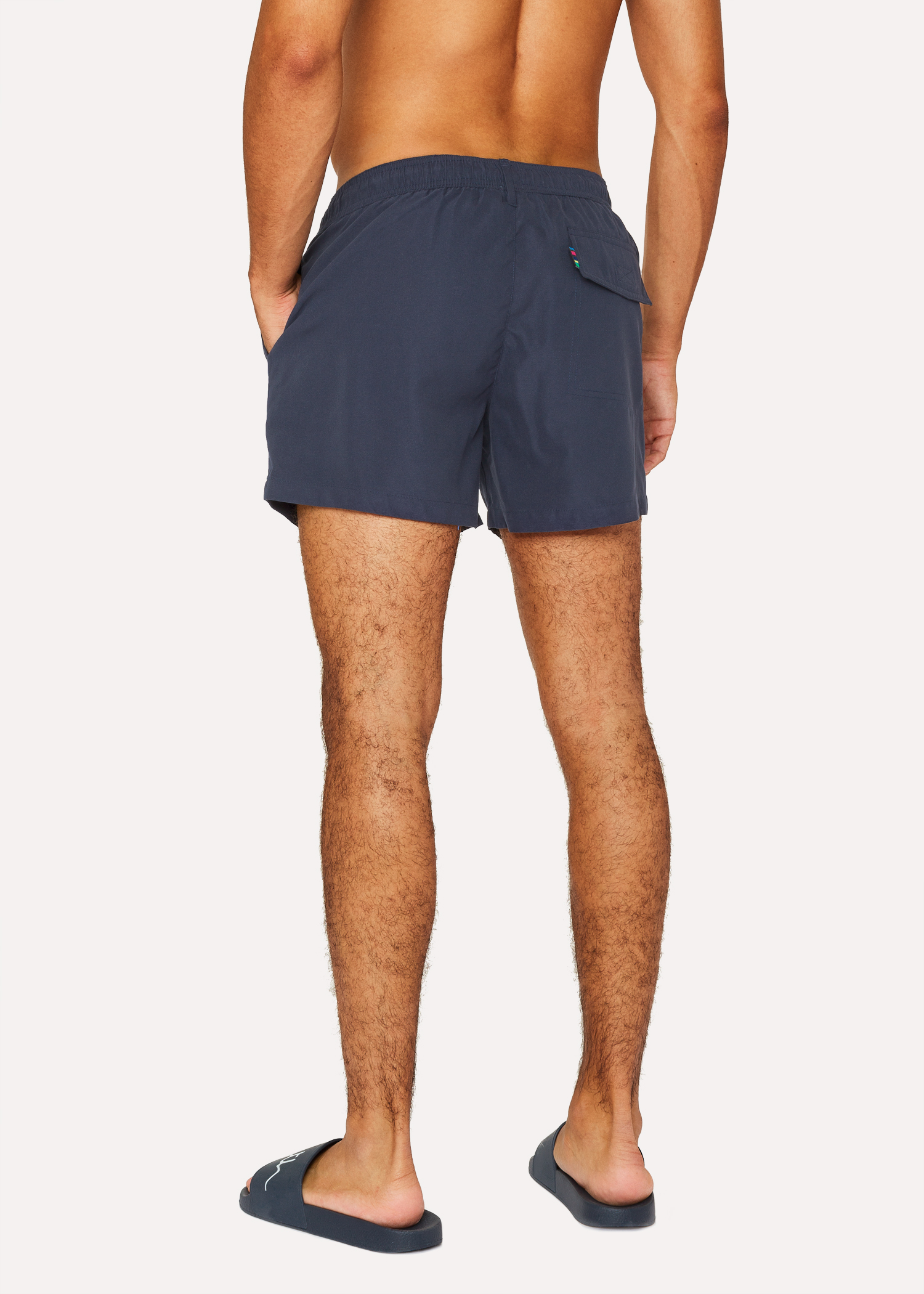 fa8ebb863f Men's Navy Zebra Logo Swim Shorts by Paul Smith