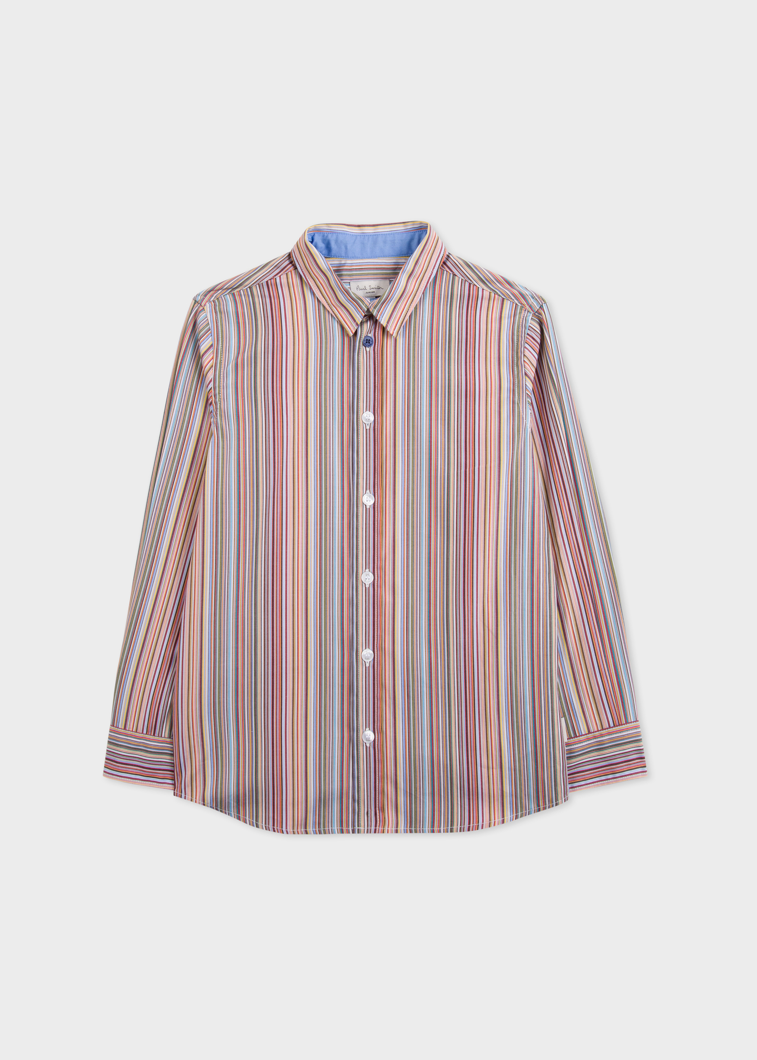 18a7d729c3389 Boys' 2-6 Years Signature Stripe Cotton Shirt