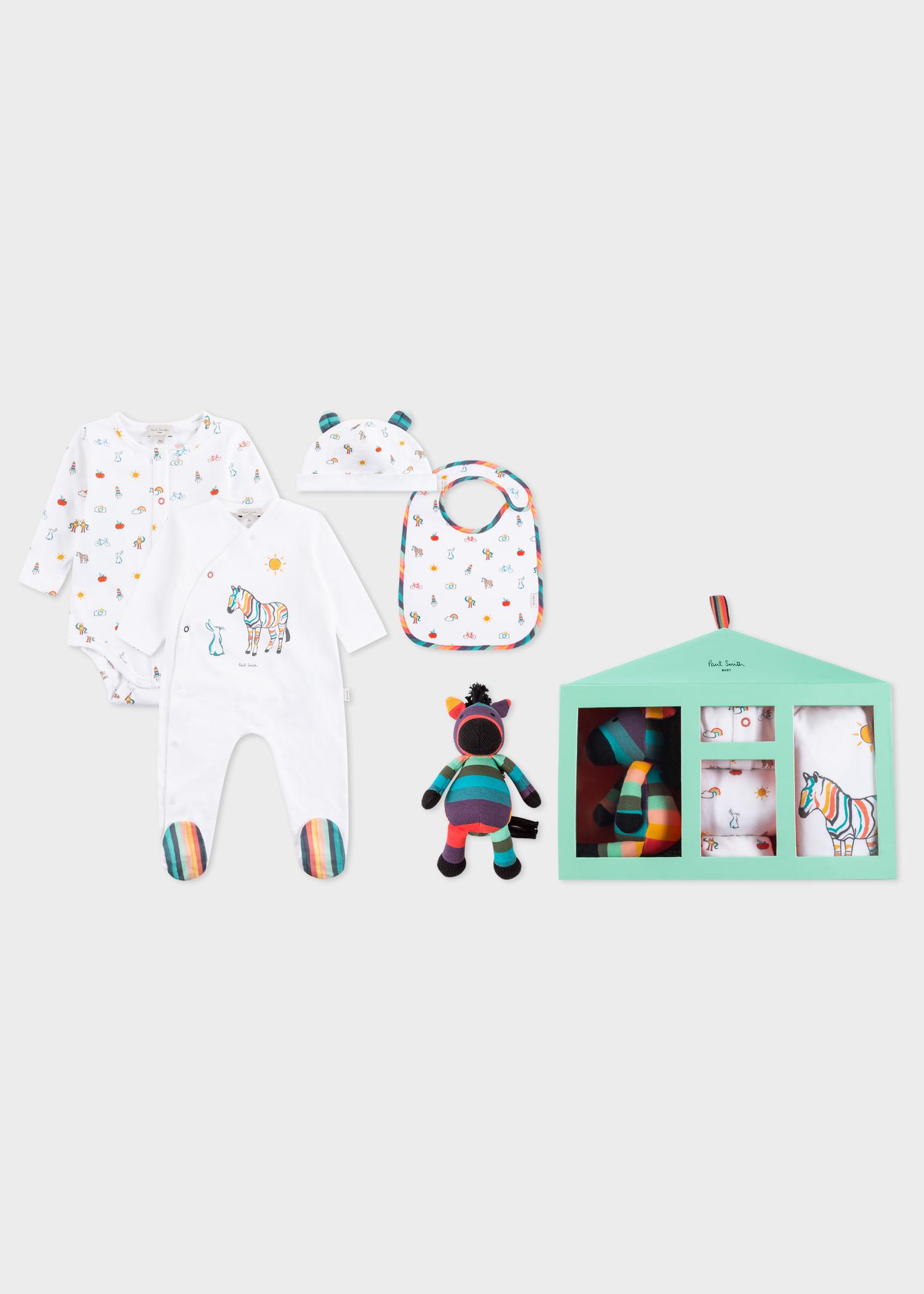 Baby Boys Playwear And Toy Box Set Paul Smith