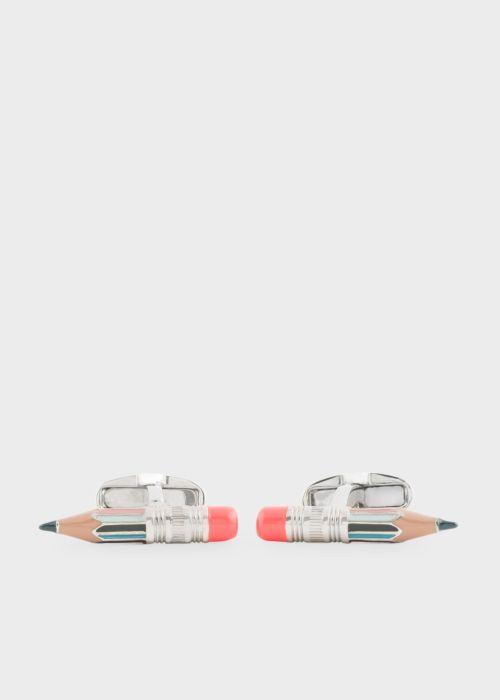 폴 스미스 커프링크스 Paul Smith Mens Multi-Coloured Pencil Cufflinks