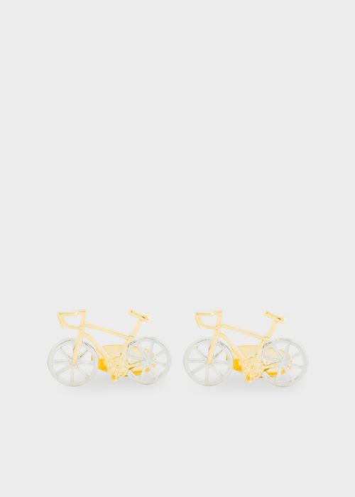 폴 스미스 커프링크스 Paul Smith Mens Racing Bicycle Cufflinks