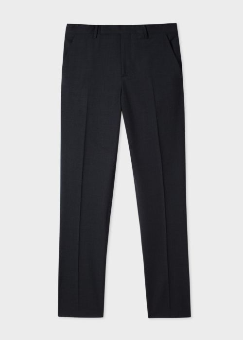 폴 스미스 바지 Paul Smith Mens Slim-Fit Charcoal Grey Wool A Suit To Travel In Trousers