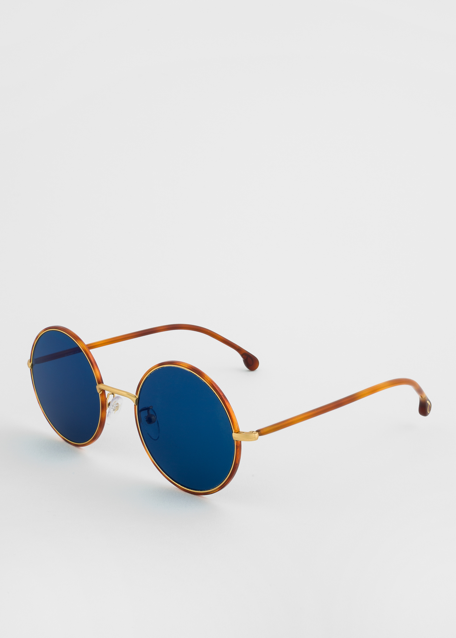 633f832ef0798 Angled view - Paul Smith Honey Turtle And Matte Gold  Alford  Sunglasses