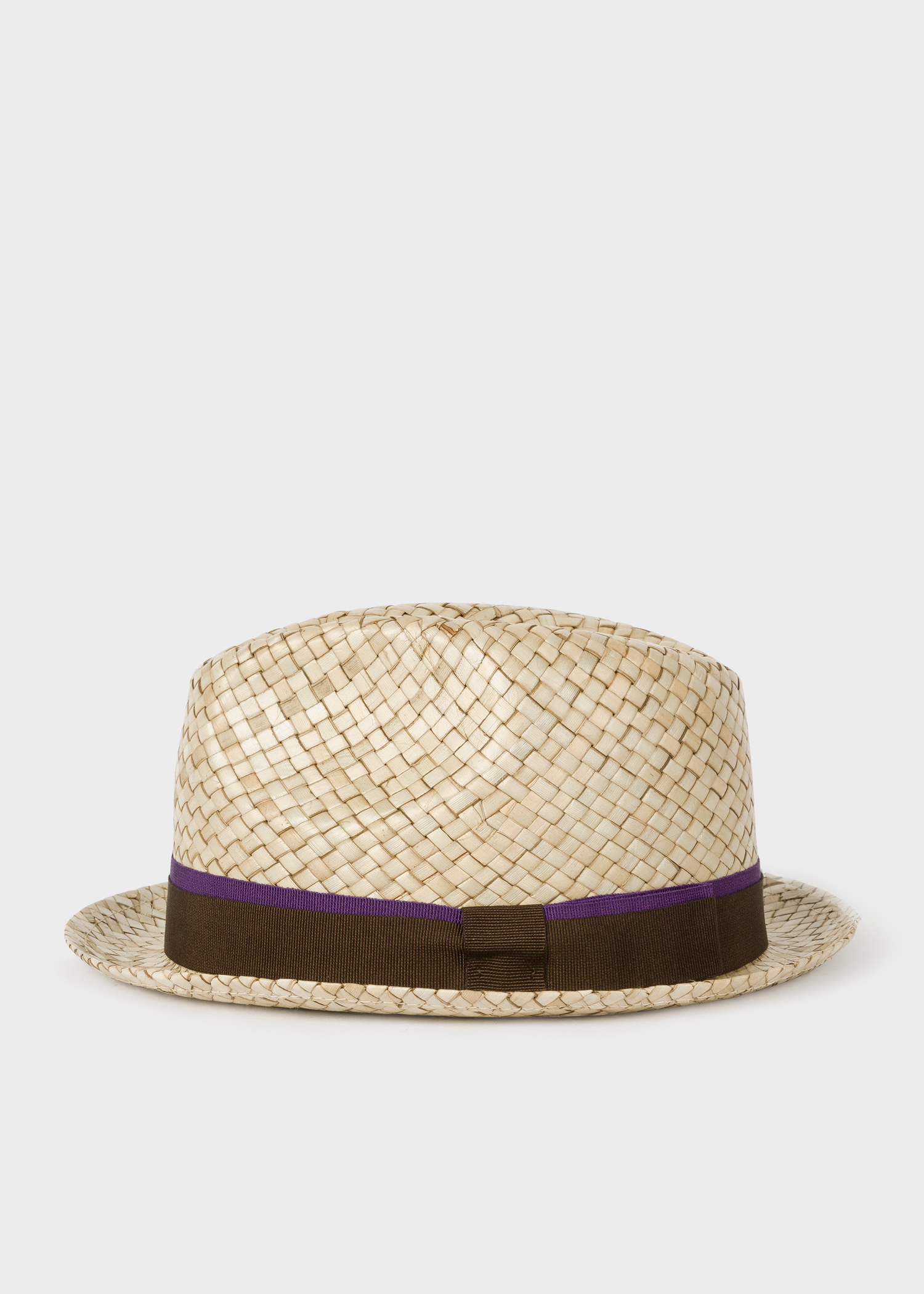 3c2cf164 Side view - Men's Sand Woven Trilby Hat Paul Smith