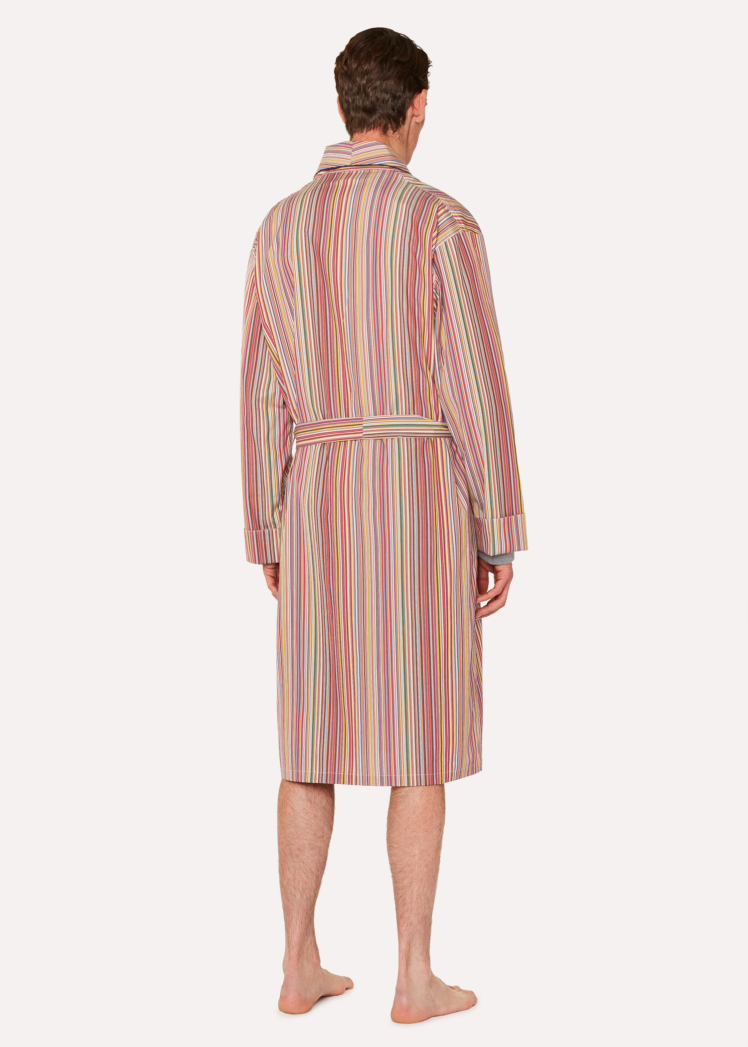 a1158cef7ed Men s Signature Stripe Cotton Dressing Gown Paul Smith
