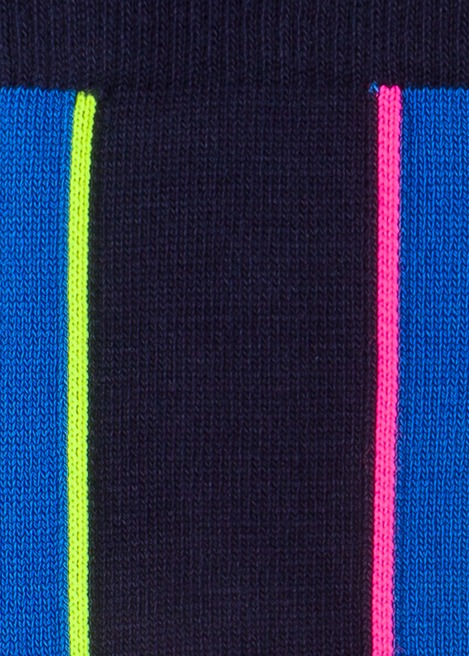 b2167a8dd89 Detailed View - Men s Navy And Indigo Vertical Stripe Socks Paul Smith