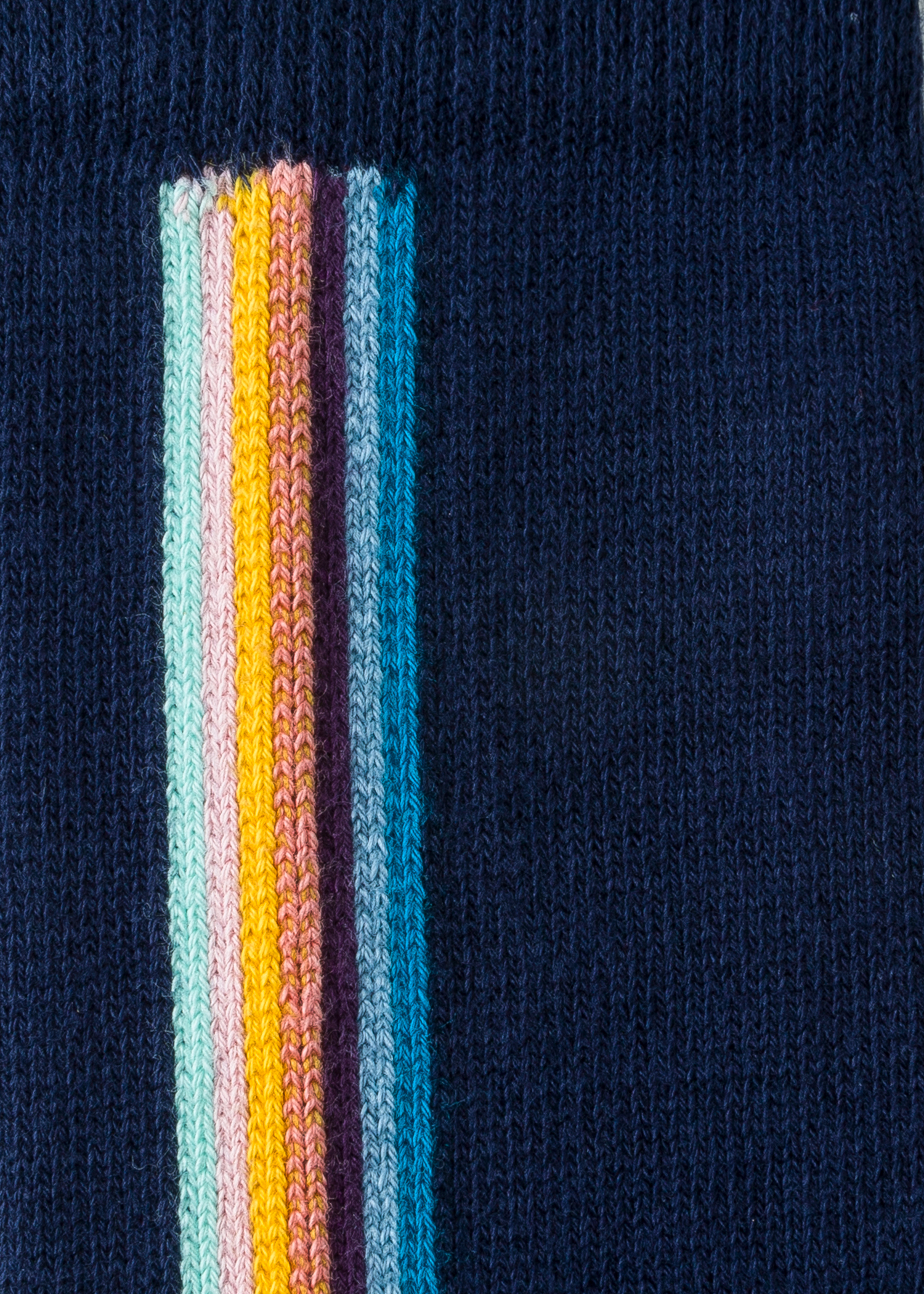 c294b6df0 Men's Navy Vertical 'Artist Stripe' Socks