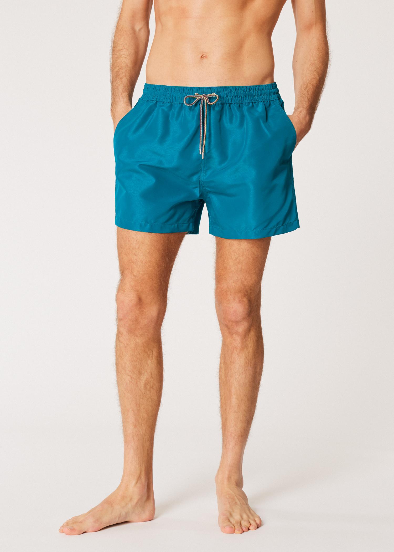 9de403085 Men's Petrol Blue Swim Shorts