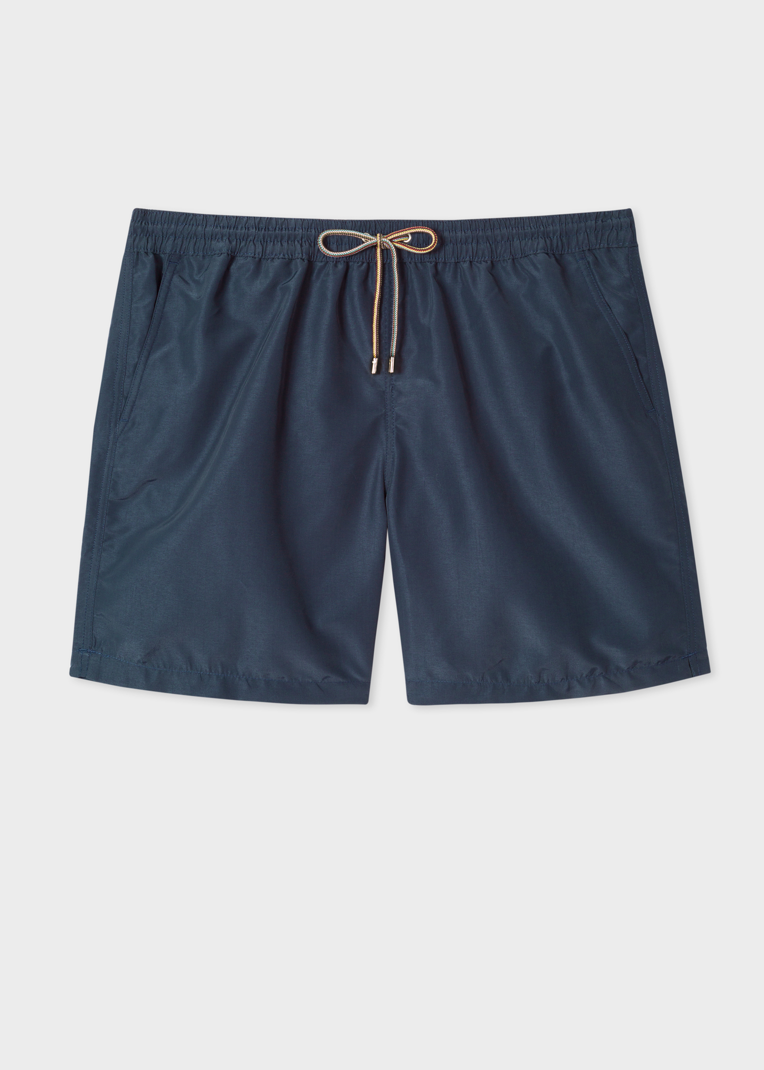 3260cab0e3 Front view - Men's Dark Navy Long Swim Shorts Paul Smith
