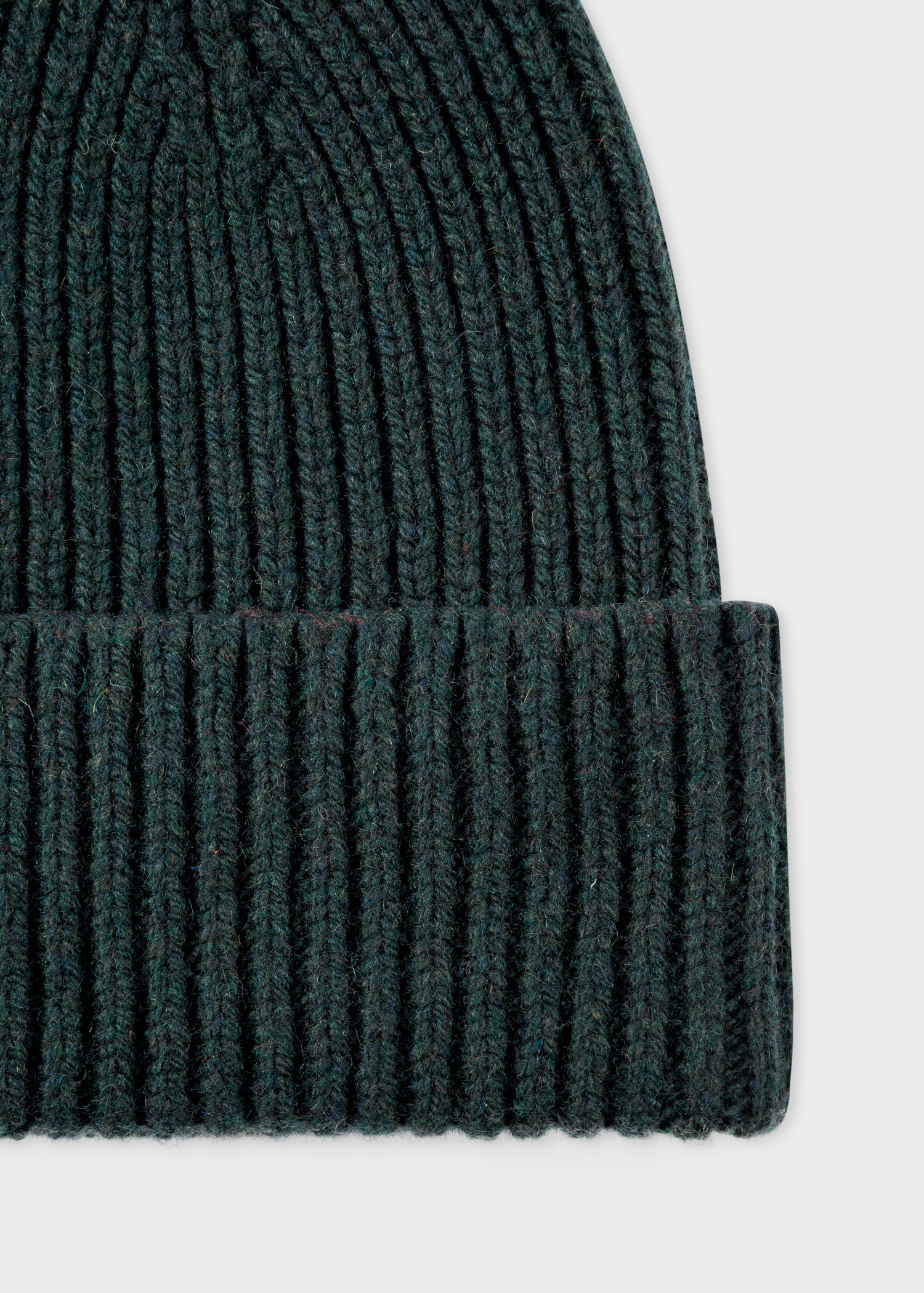 ca251674dc7 Men s Dark Green Cashmere-Blend Beanie Hat - Paul Smith US