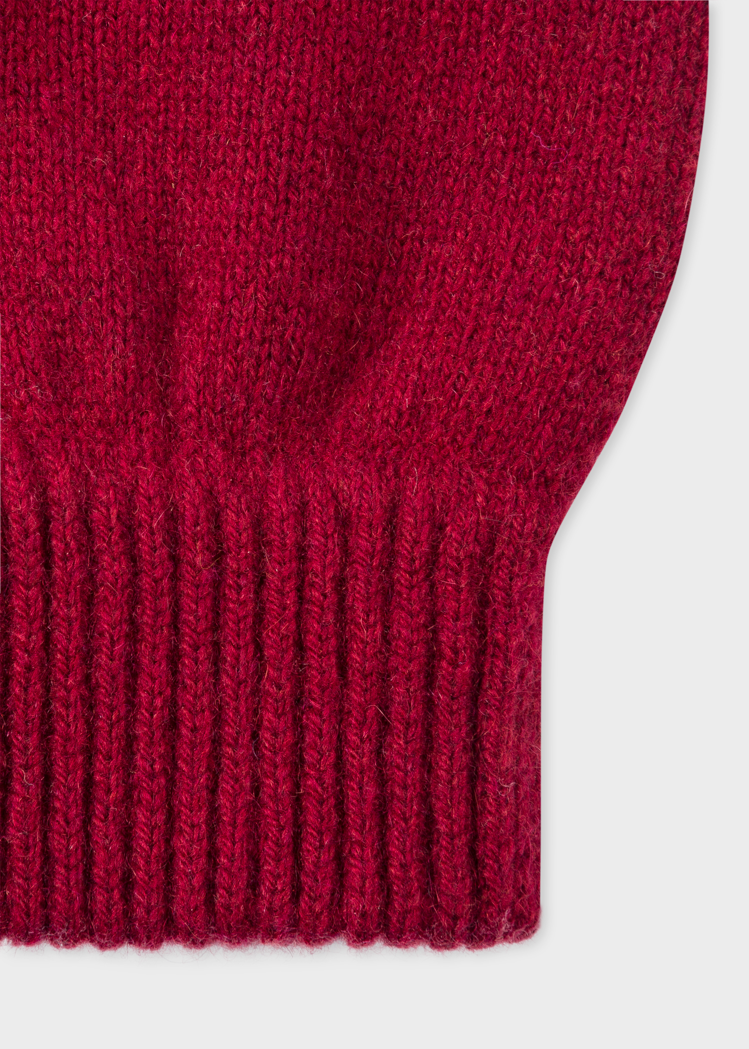 1e6a337eed0 Men s Burgundy Cashmere-Blend Gloves - Paul Smith US