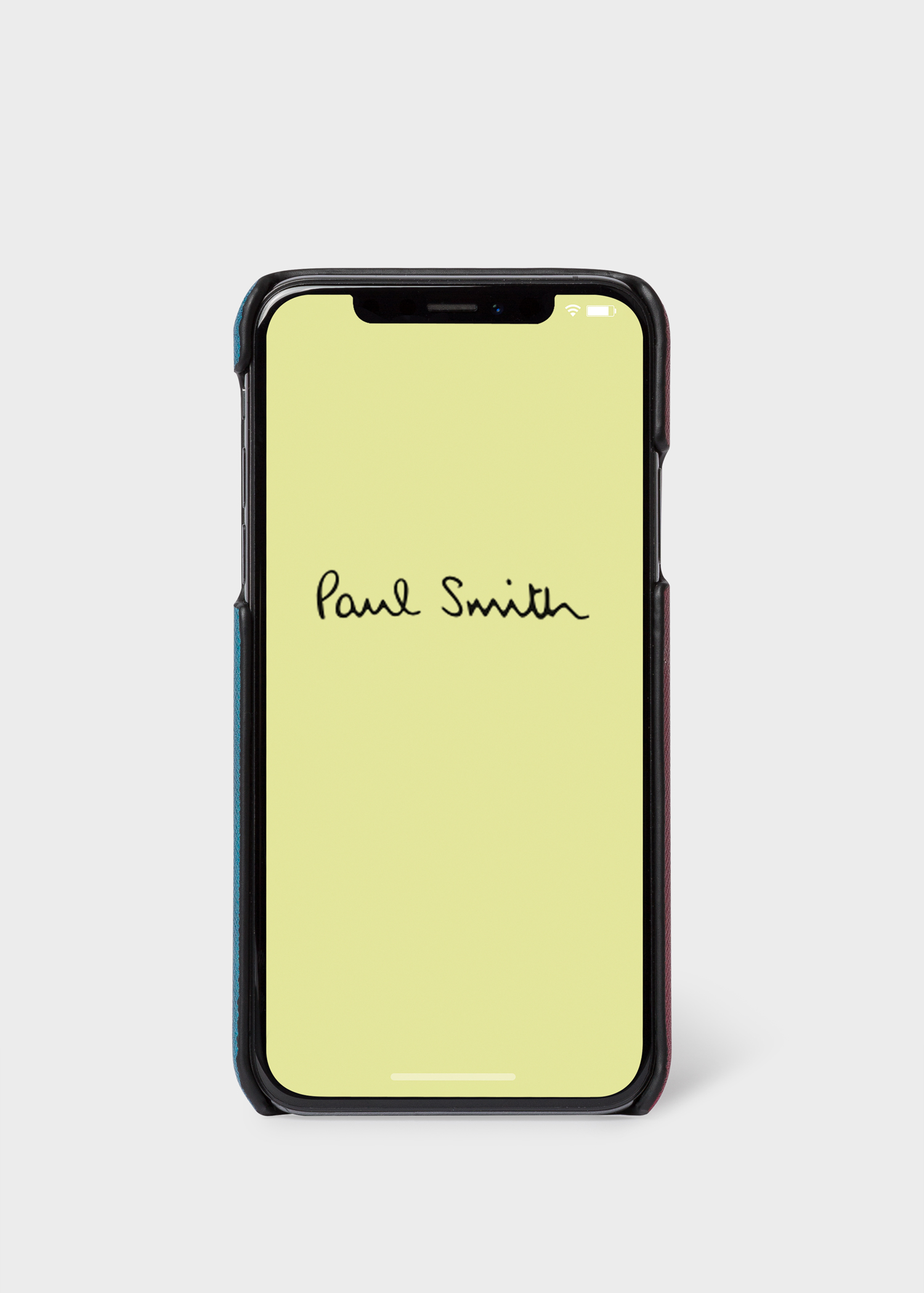 coque iphone x paul smith