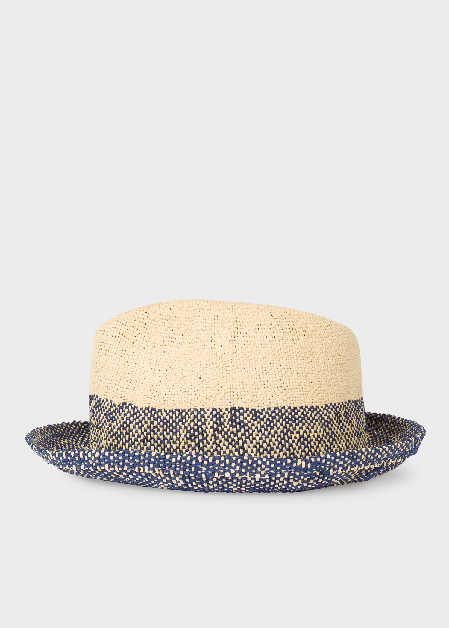 02dd331e Front view - Men's Two Tone Trilby Hat Paul Smith