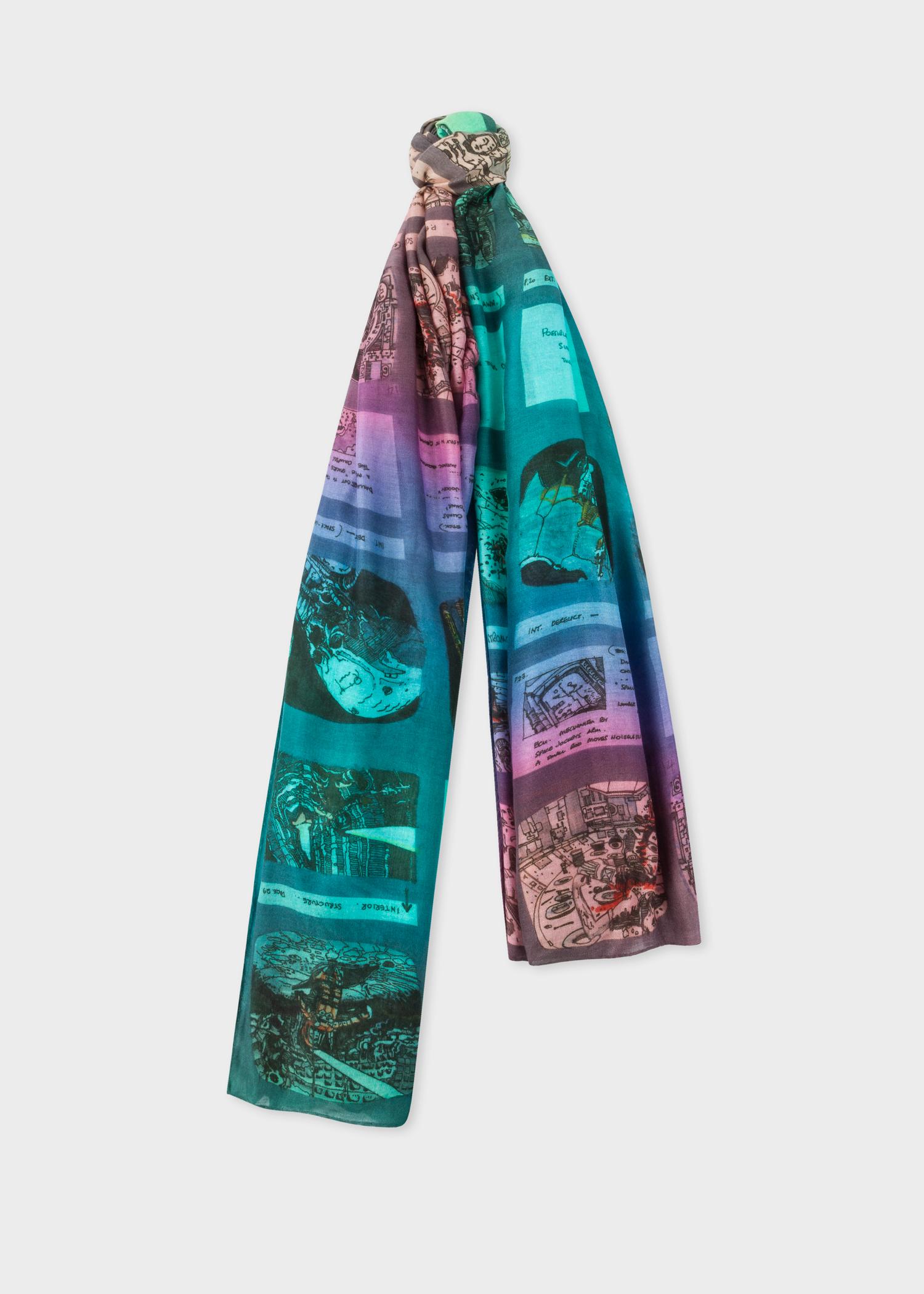 90d227c85cd5 Front view - Paul Smith + Ridley Scott - Multi-Colour 'Alien' Storyboard