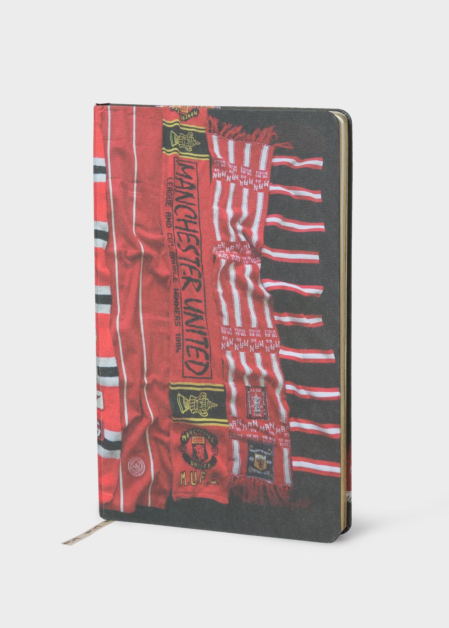 73af772b1d Paul Smith & Manchester United - 'Vintage Scarf' Print Notebook