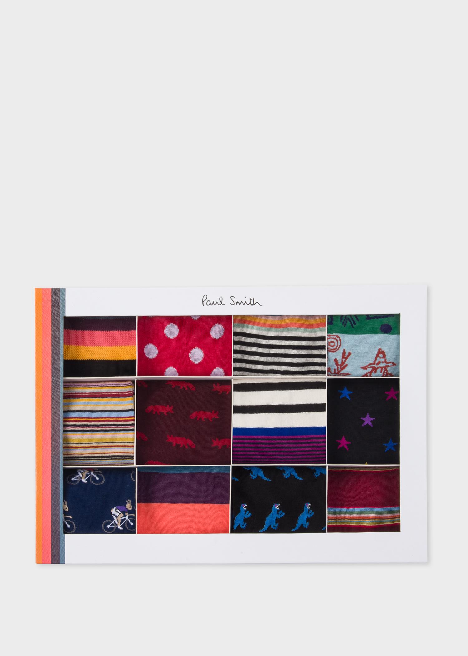 Box View - Paul Smith Men's Socks Gift Box 2019 Edition