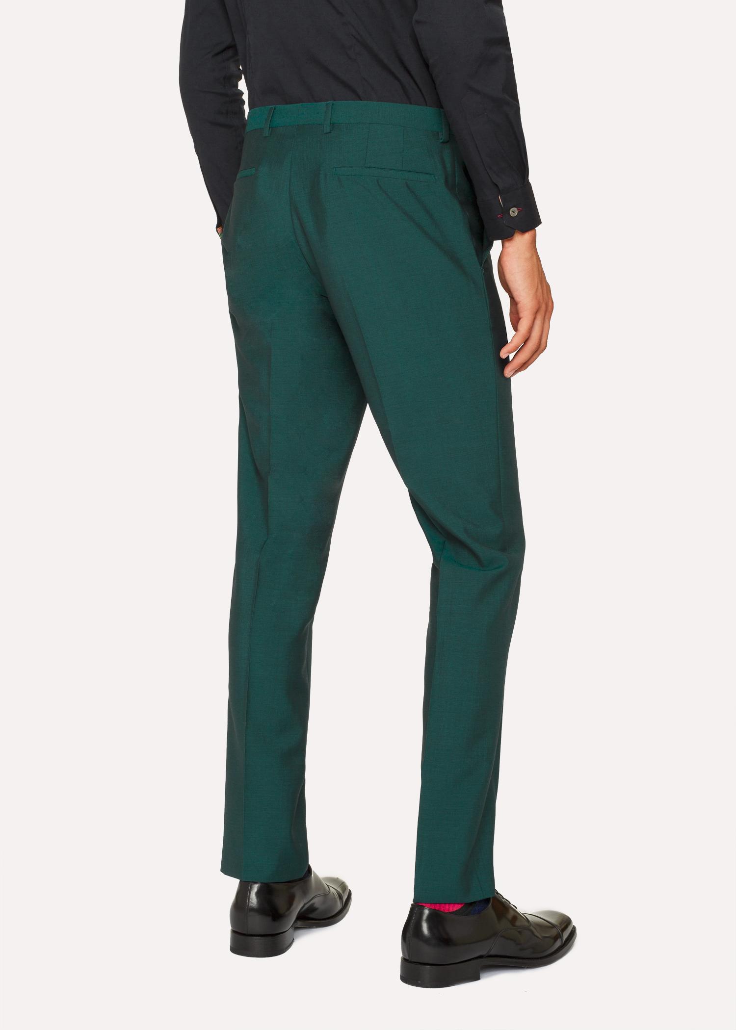 costume homme vert fonc en laine et mohair coupe slim. Black Bedroom Furniture Sets. Home Design Ideas