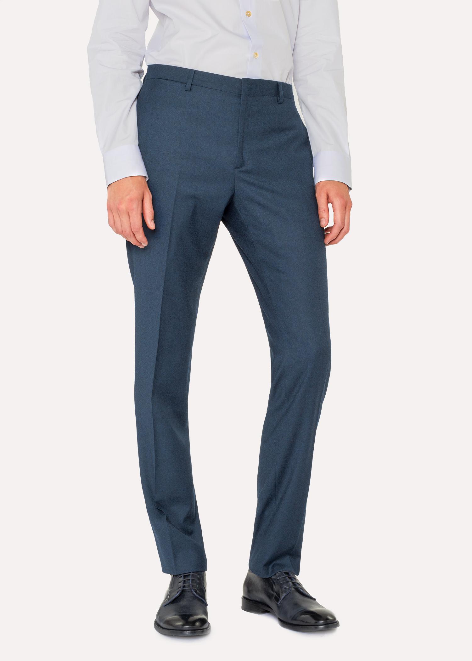 le kensington costume homme bleu p trole en laine et cachemire coupe slim paul smith francais. Black Bedroom Furniture Sets. Home Design Ideas