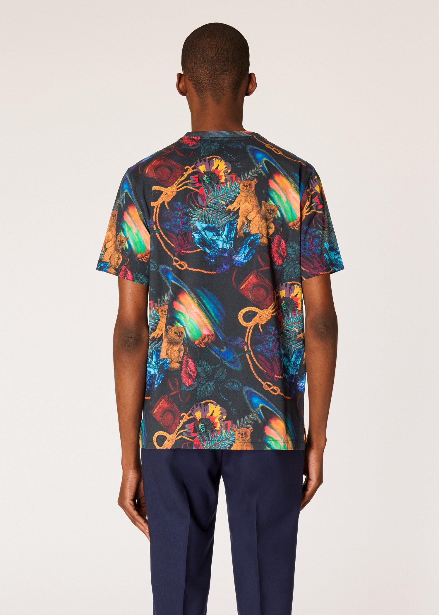 Francais Homme Paul Shirt Imprimé 'explorer' Tee Smith 7yYfgb6v