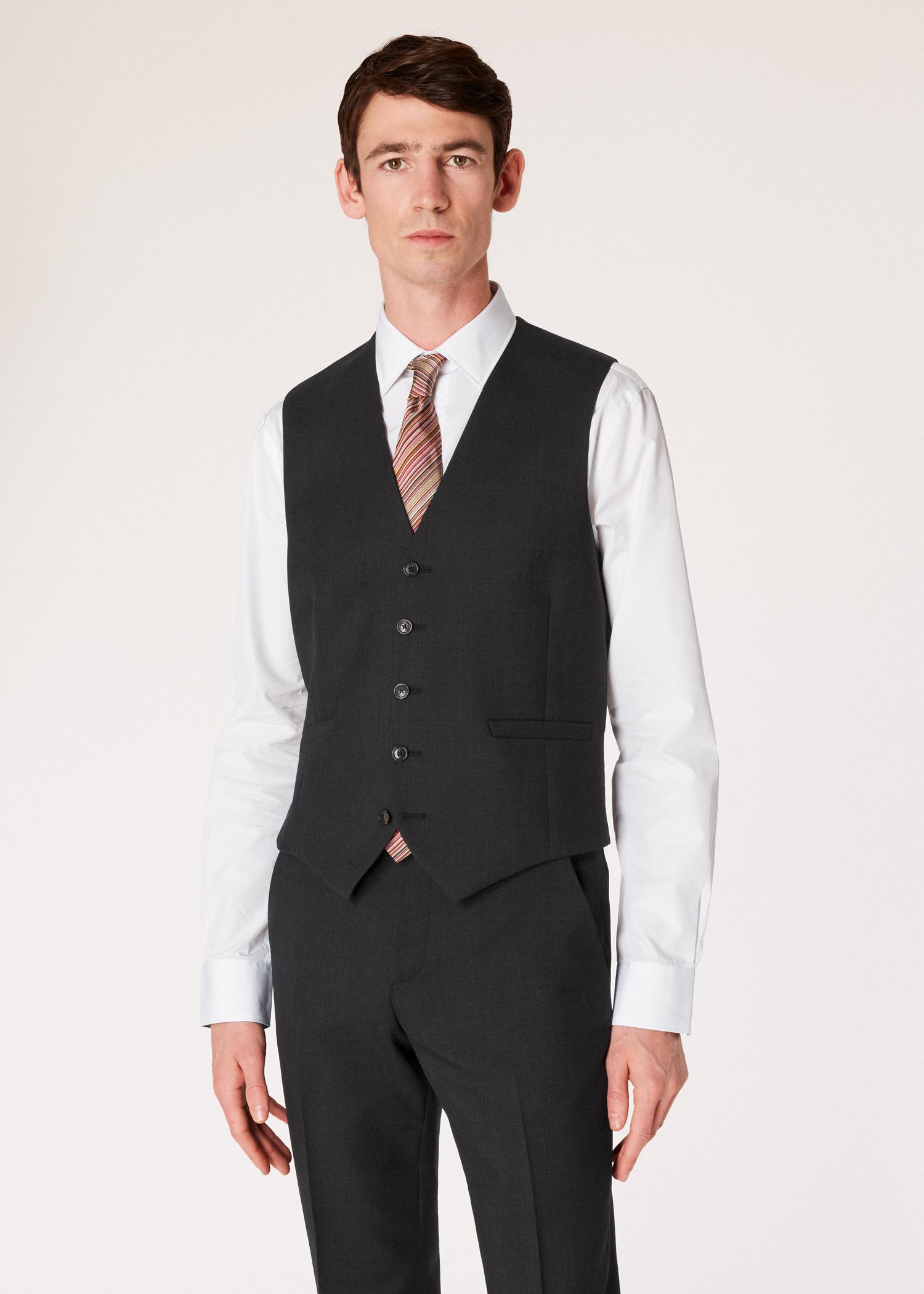 Vue mannequin face zoom- Gilet De Costume Paul Smith Homme  A Suit To Travel 8c10ce1fa58