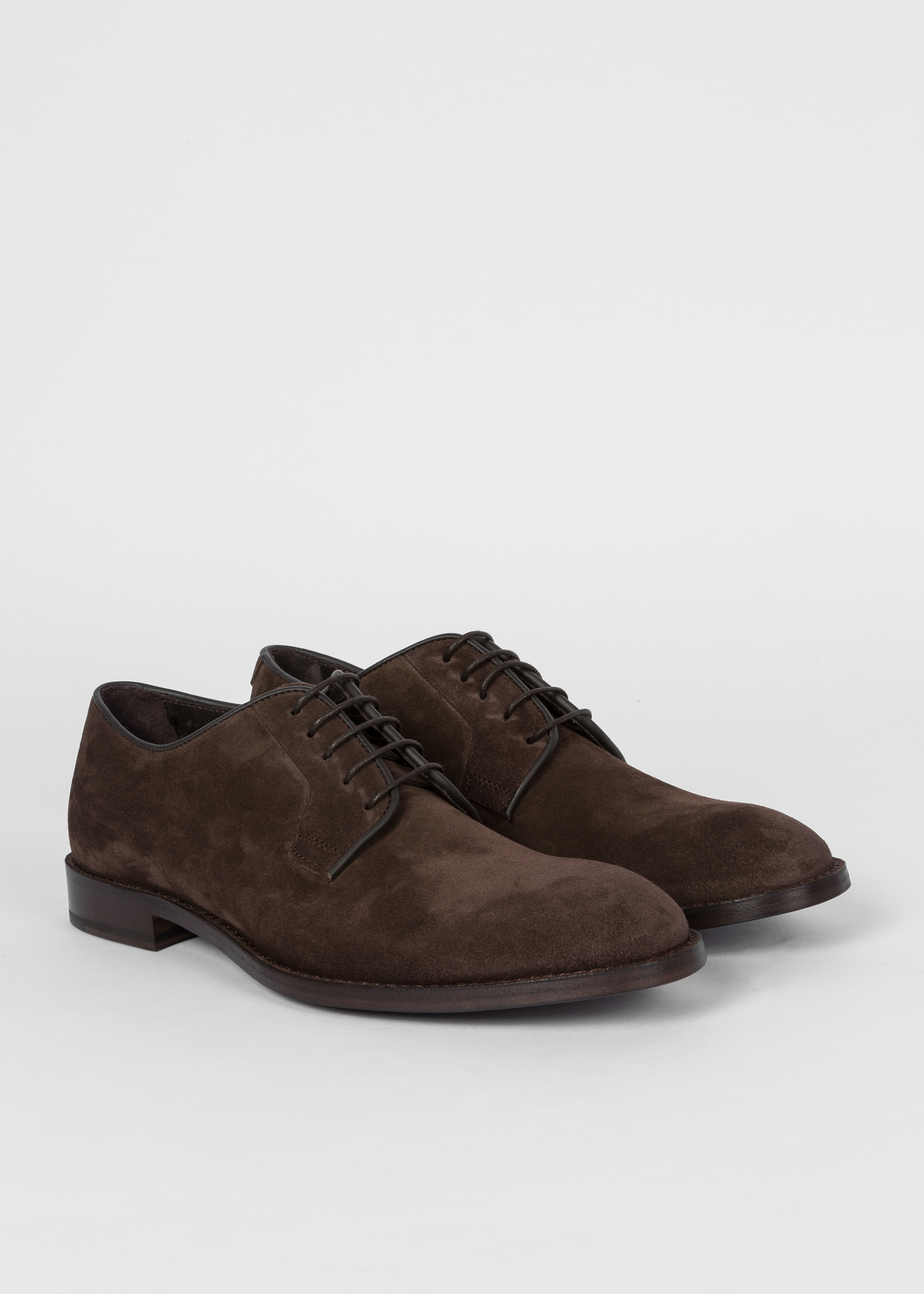 be8f42bd8be07 Men's Dark Brown Suede 'Chester' Flexible Travel Shoes
