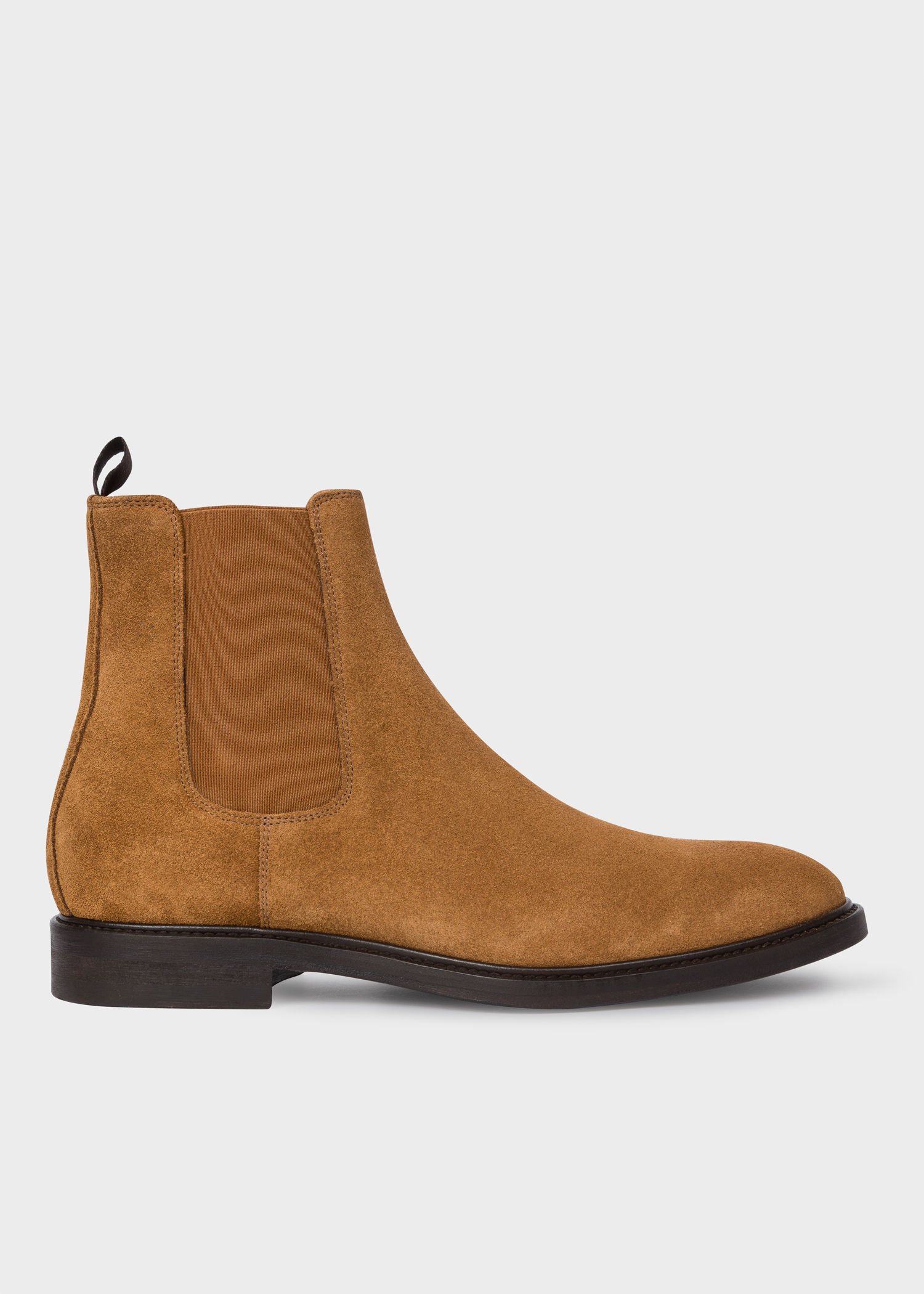 Men S Tan Suede Jake Chelsea Boots Paul Smith