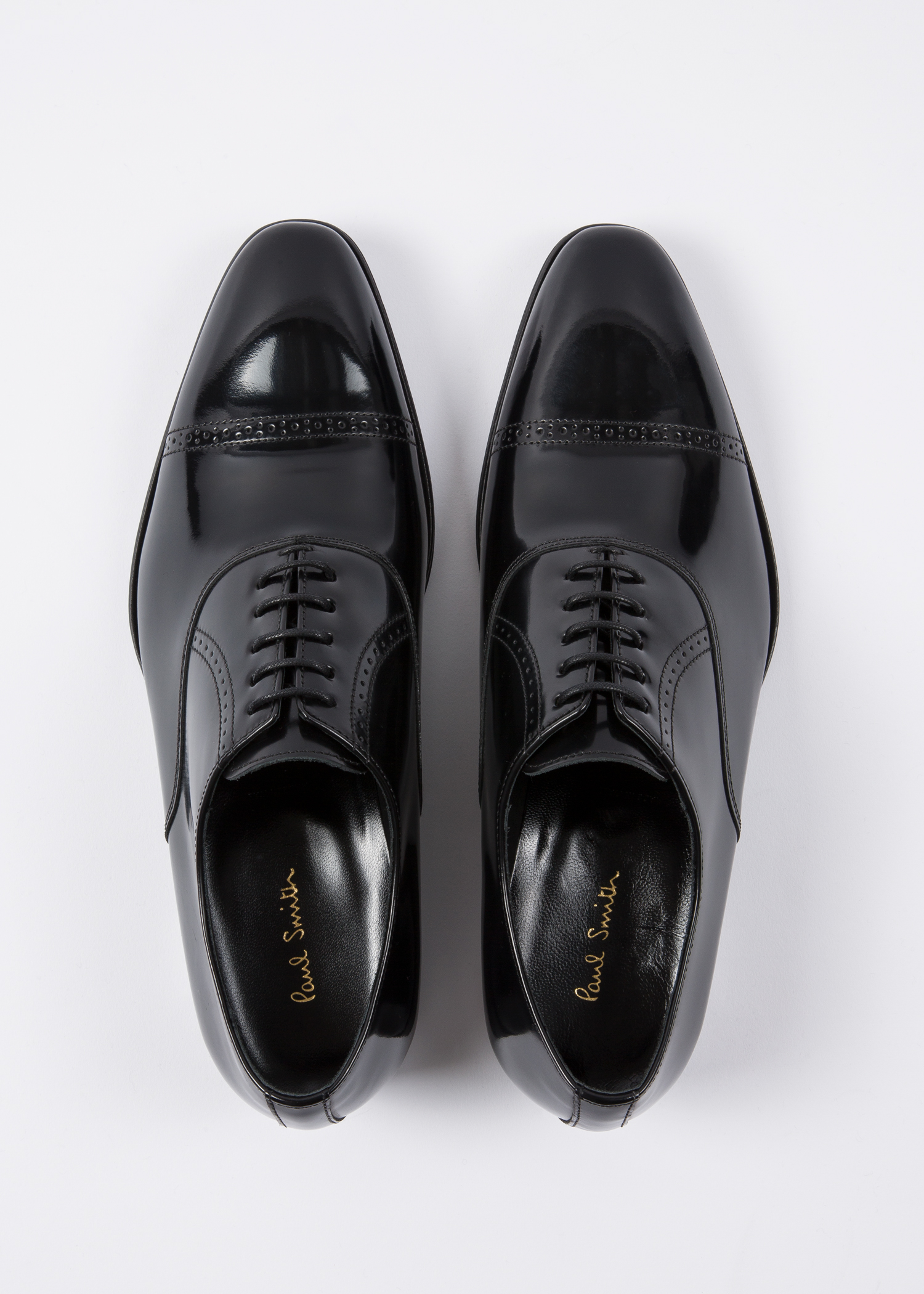 507c3919d6 Men s Black Patent Leather  Lord  Oxford Shoes - Paul Smith Asia