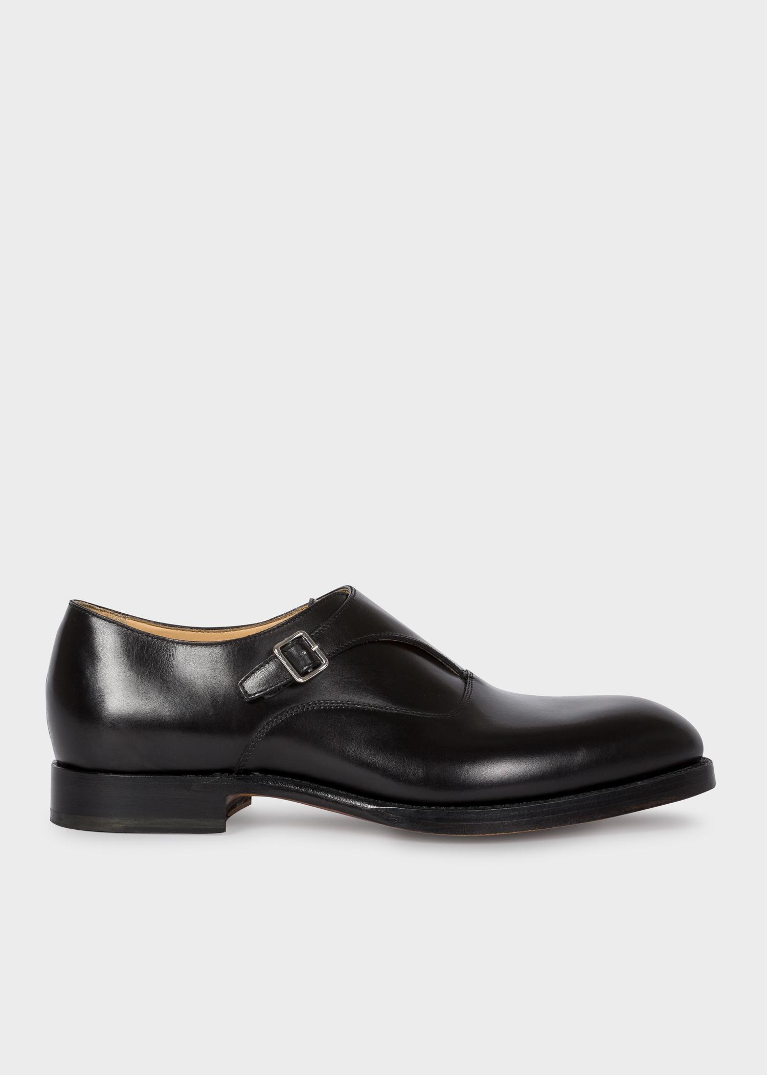 Chaussures En De Boucle Veau Noires 'rigby' Paul Homme À Cuir ul3TKF1Jc